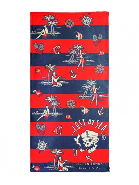Lost Sea Legs Towel blue