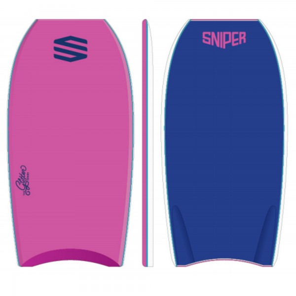 SNIPER Bodyboard Girls Pop Glitter PE 38