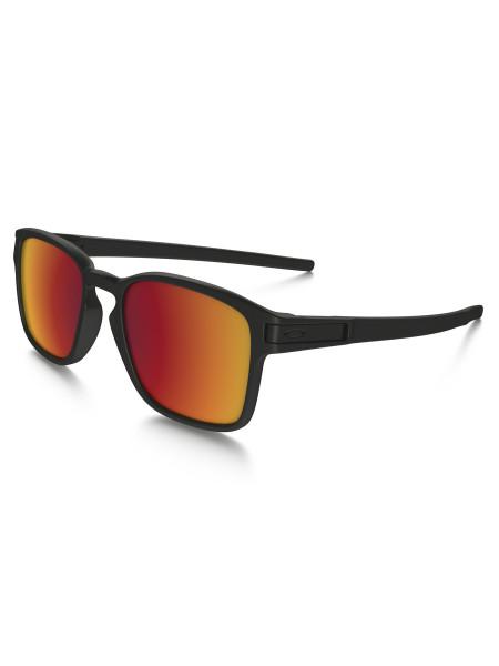 Oakley Latch SQ Sonnenbrille matte black - torch iridium