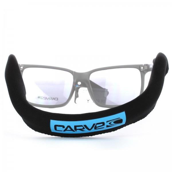 CARVE Brillenband schwimmfähig Schwarz Neopren