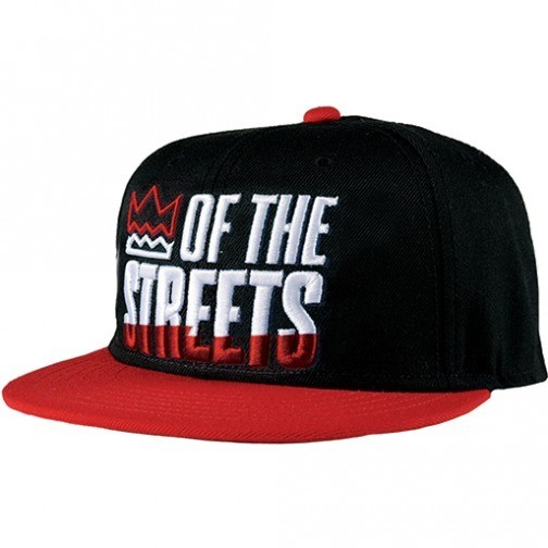 Neff Street Kings Cap black