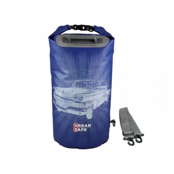 Urban Safe wasserdichte Tasche Packsack 20 L Blau