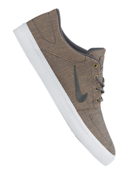 Nike SB Portmore Canvas Premium Sneaker dark grey-white