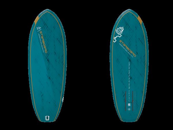 """Starboard Foil Surf V.2 4'8"""" Blue Carbon SUP"""