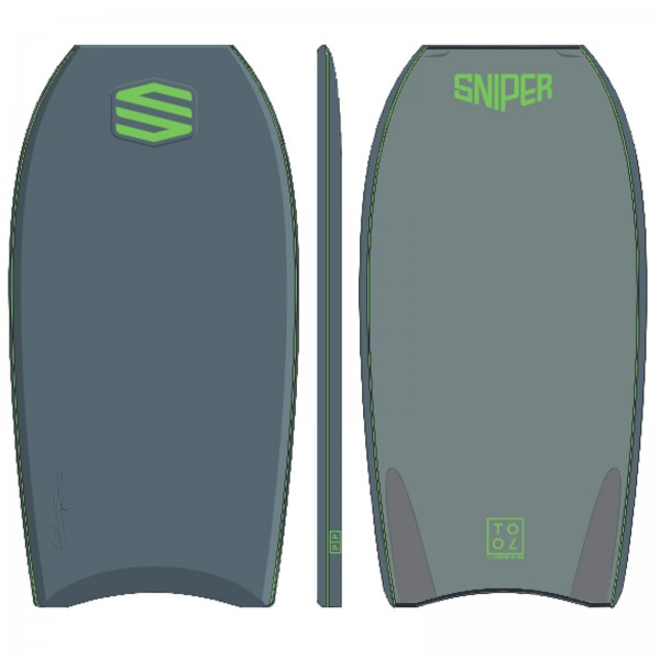 SNIPER Bodyboard Alex Uranga Tool XPE 41,5 Grau