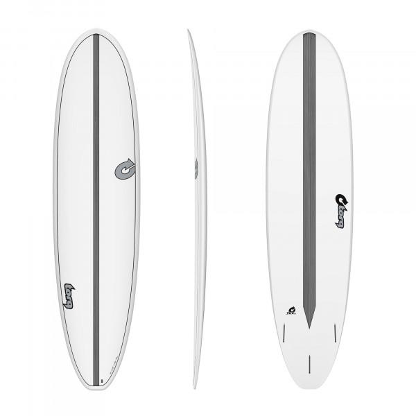 Surfboard TORQ Epoxy TET 7.8 VP Funboard Carbon