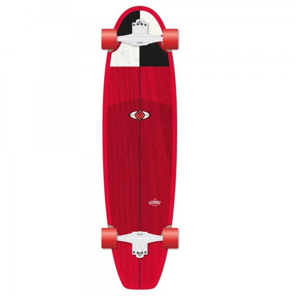 FLYING WHEELS Surf Skateboard 38