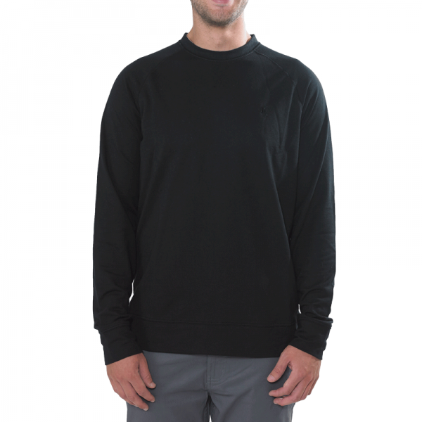 Hurley Chest Icon Pullover black