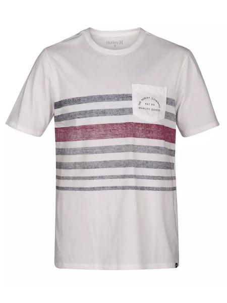 Hurley Kanpai Stripe Pocket T-Shirt