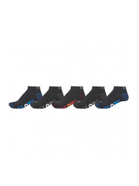 Globe Multi Stripe Ankle 5-Pack Socken