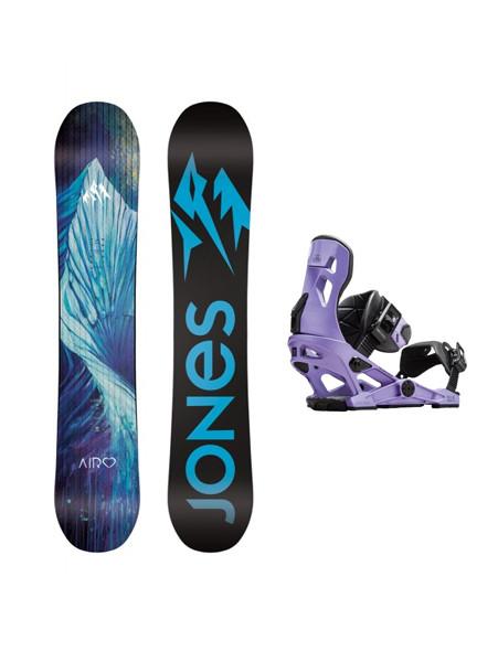 Jones Airheart + Conda Women Snowboard Set