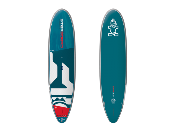 "Starboard 6'6"" X 30"" Hyper Foil Blue Carbon SUP"