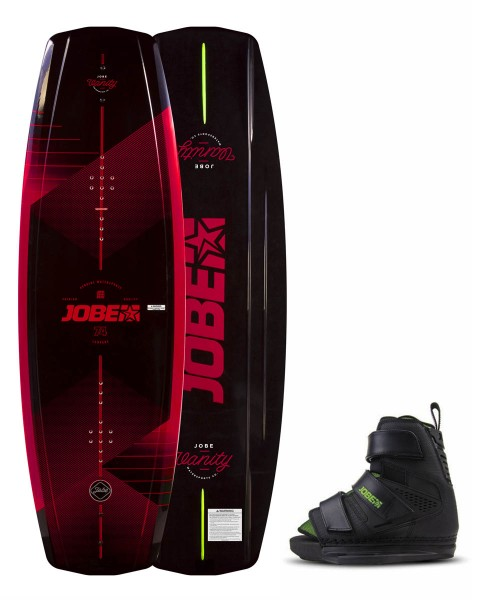 Jobe Vanity Wakeboard 136 & Host Bindungen Set