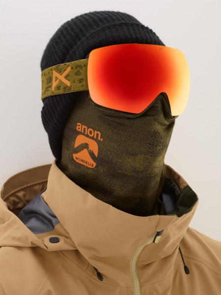 Anon MIG MFI Snowboardbrille + Facemask 2019