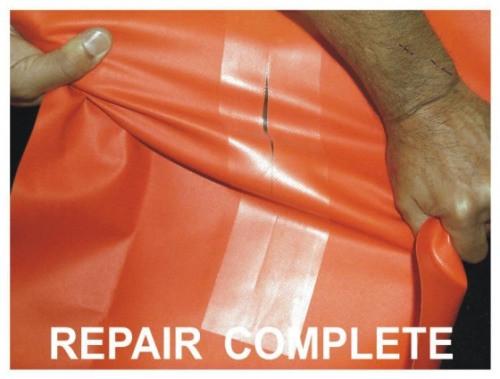 PVC Reparatur Pad 7,5 x 10cm tape selbstklebend
