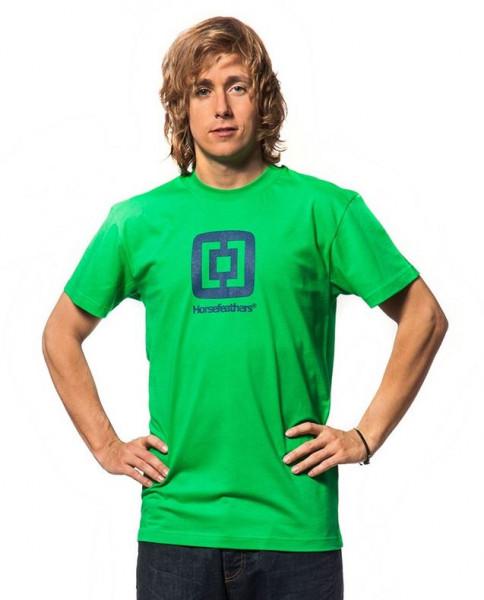 Horsefeathers Fair T-Shirt green