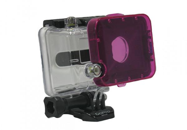 PolarPro Snap-on Magenta-Filter Dive Housing Hero2