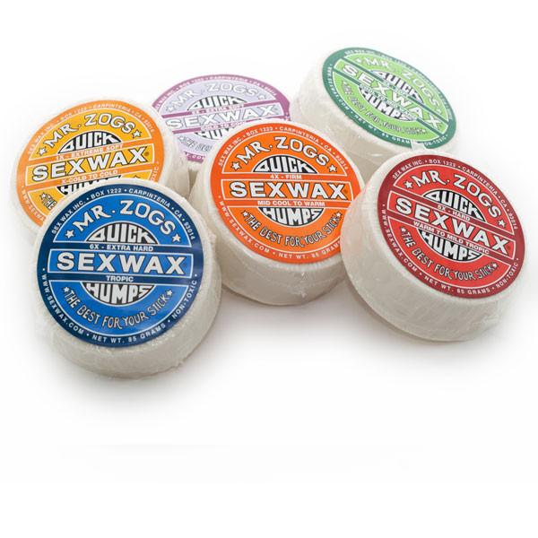 Mr.Zogs Sex Wax Quick Humps Surfboard Wachs (1 Stück)