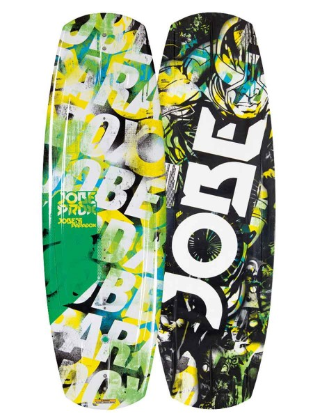 Jobe Paradox Wakeboard Series green