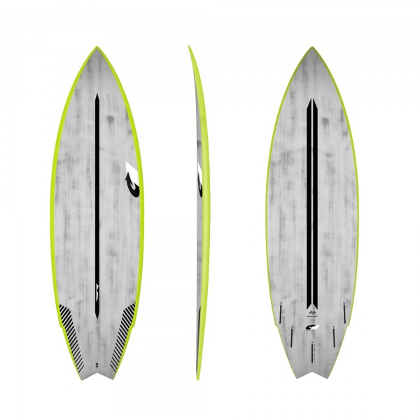 Surfboard TORQ ACT Prepreg Go-Kart 5.10 GreenRail