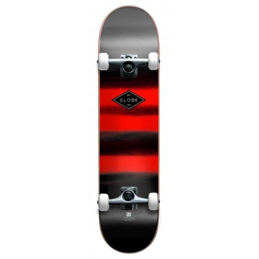 Globe Full On Skateboard Complete charcoal chromantic