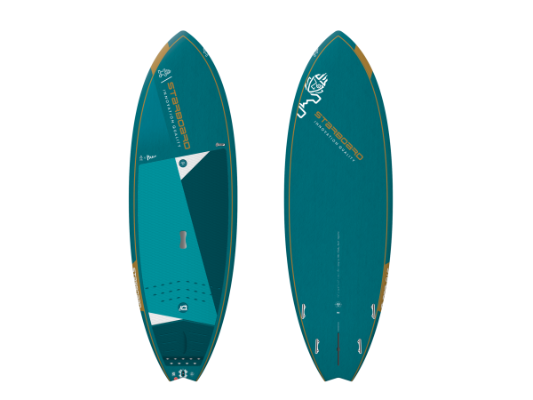 """Starboard Pro 7'2"""" Blue Carbon SUP"""