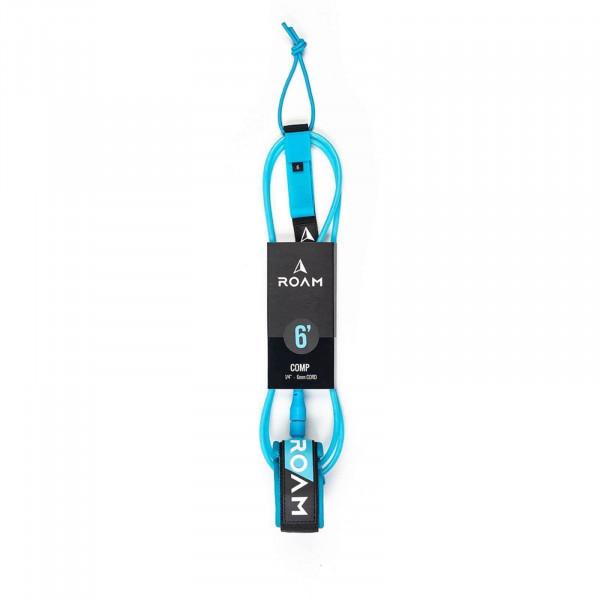 "ROAM 6'0"" Surfboard Leash Comp 6mm Blau"