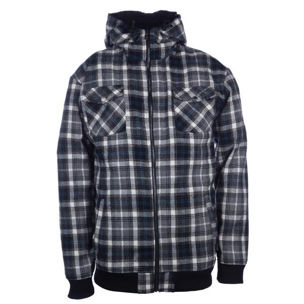 Ride Plaid Full Zip Sweatshirt