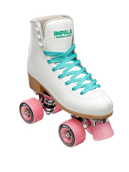 Impala Quad Skates Rollschuhe weiß