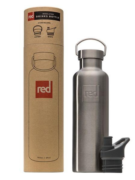 Red Paddle Trinkflasche Edelstahl