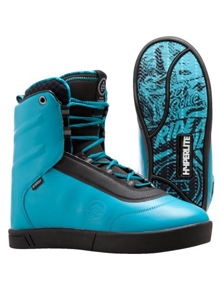 Hyperlite AJ System Wakeboard Boot blue