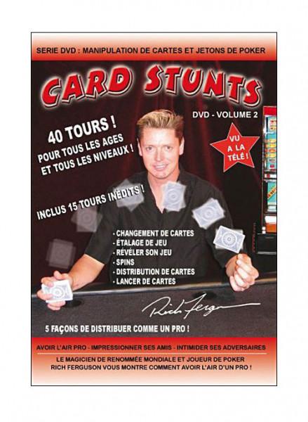 Poker 40 Card Stunts by Rich Ferguson - Vol.2 English Version