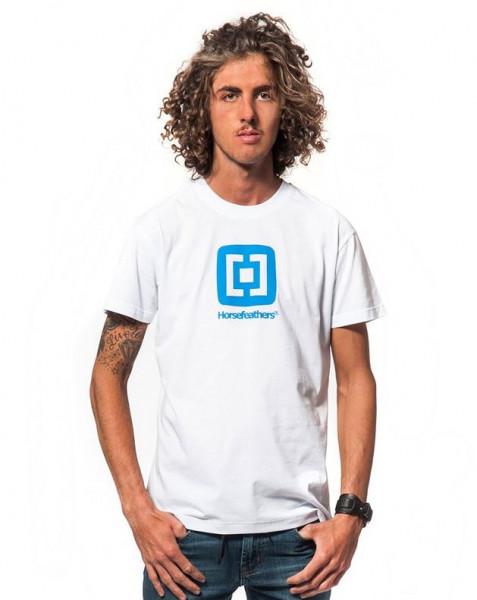 Horsefeathers Fair T-Shirt white