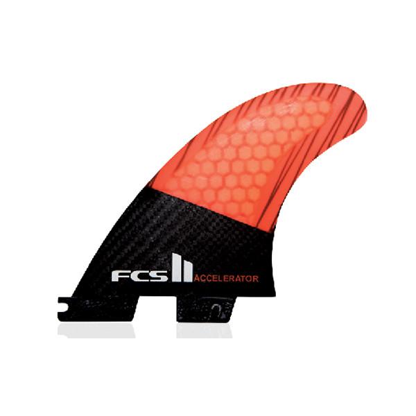 FCS II Accelerator PC Carbon Medium Tri Retail Fins