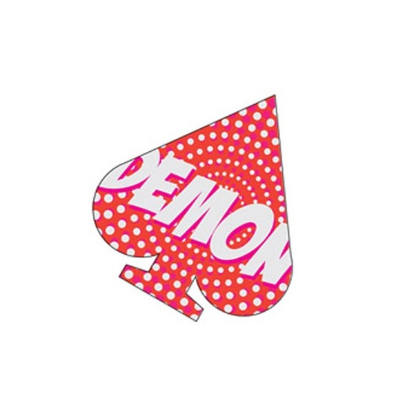Demon Spade Stomp Pad - Snowboard Antirutschpad red/white
