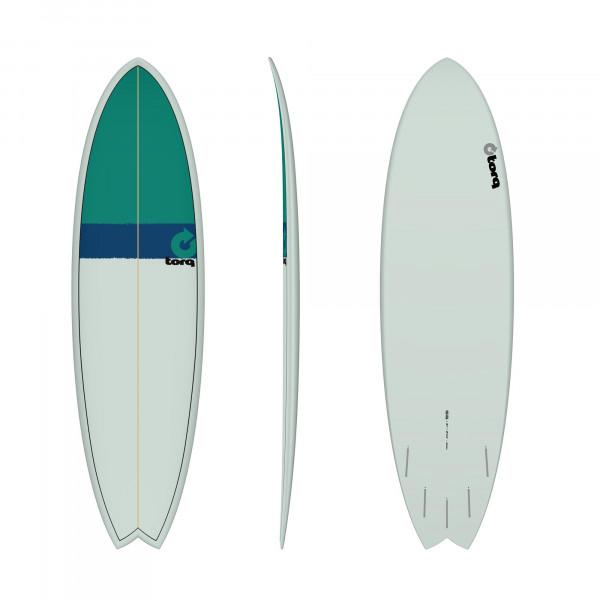 Surfboard TORQ Epoxy TET 6.6 Fish Classic