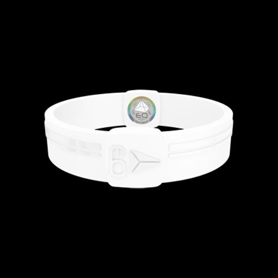 EQ - Hologramm Armband white/translucent