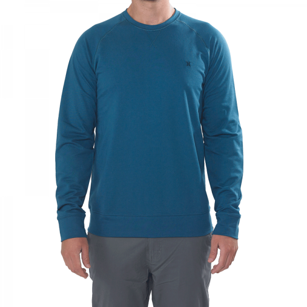Hurley Chest Icon Pullover storm blue