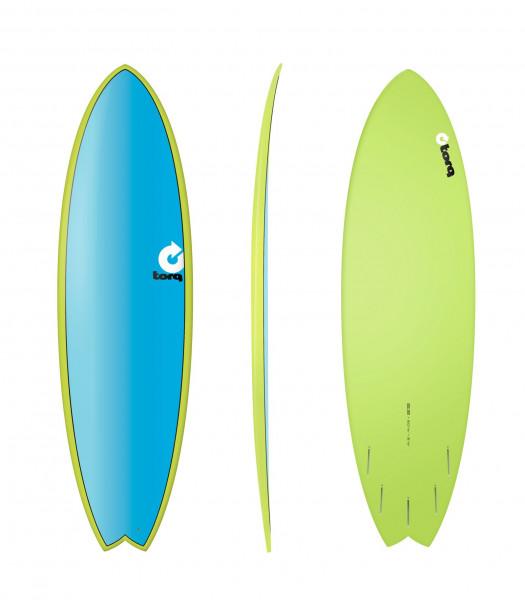 Surfboard TORQ Epoxy TET 6.3 Fish Full Fade