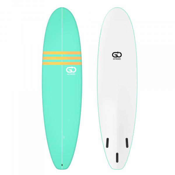 GO Softboard 7.2 Soft Top Surfboard Grün