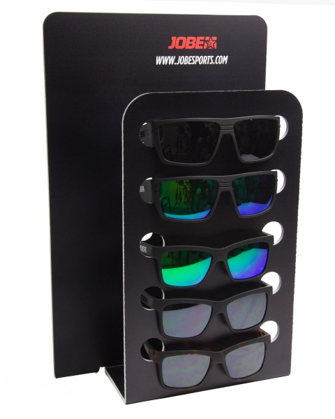 Jobe Floatable Sunglasses package with display