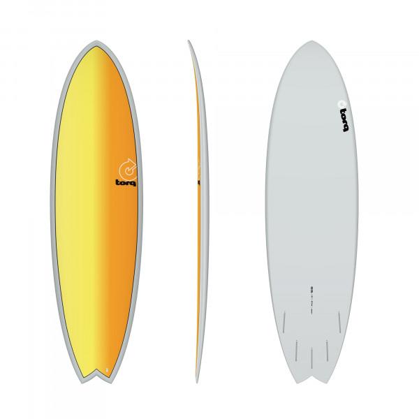 Surfboard TORQ Epoxy TET 6.6 Fish Full Fade
