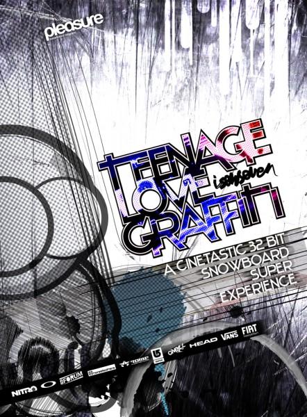 TEENAGE LOVE GRAFFITI - Isenseven