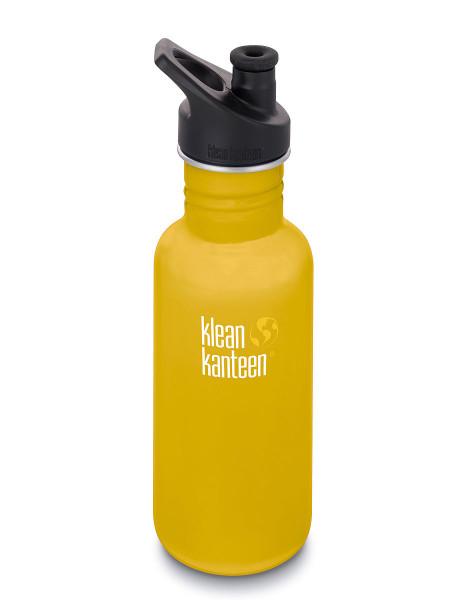 Klean Kanteen Classic 532 ml Trinkflasche Edelstahl / Sport Cap 3.0