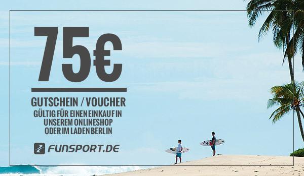 Funsport.de Geschenk-Gutschein - 75,- EUR