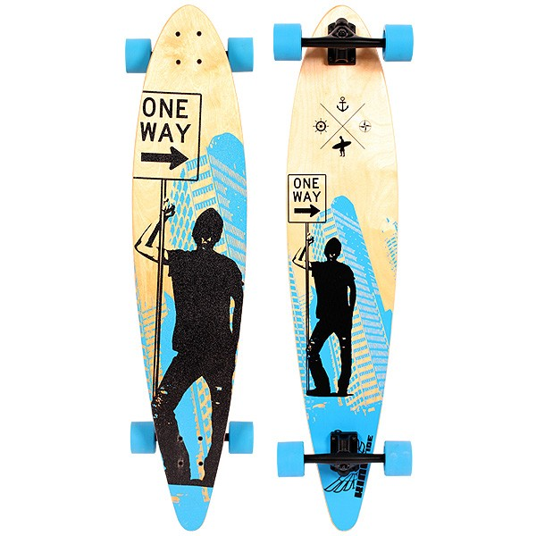 "Kingtide Urban 42"" Pintail Longboard"