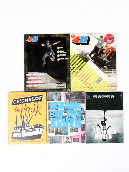 Funsport.de MEGA Skateboard DVD 5er Pack
