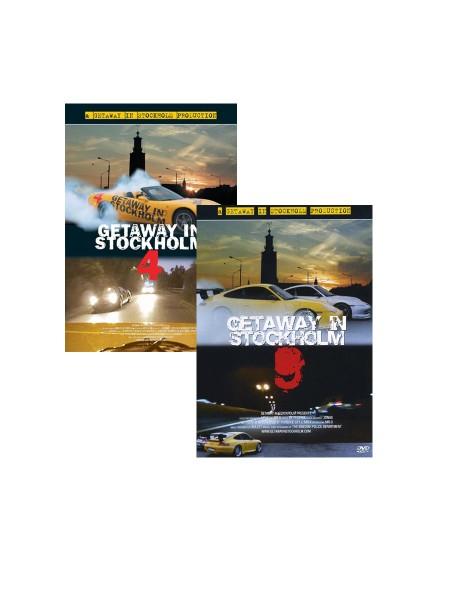 GETAWAY IN STOCKHOLM 2er DVD Pack