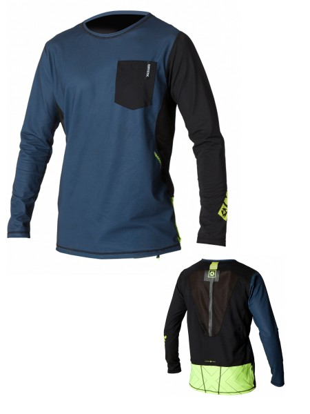 Mystic SUP Breathable Quickdry Vest L/S navy