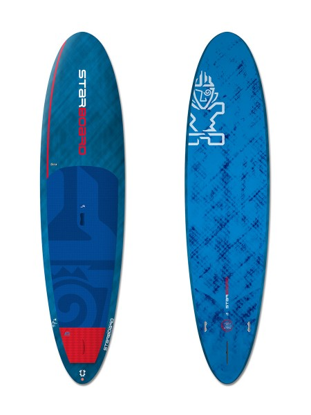 "Starboard 10'5"" Drive Blue Carbon SUP"